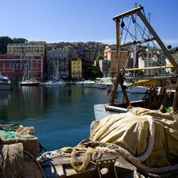 harbour view-Bastia-Corsica-france