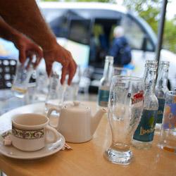 café-Calenzana and GR20-Corsica-france
